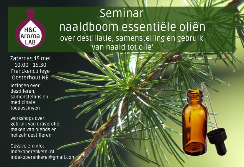 Seminar naaldboom essentiële oliën